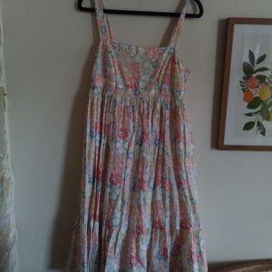 Sussan floral boho summer midi dress size 8
